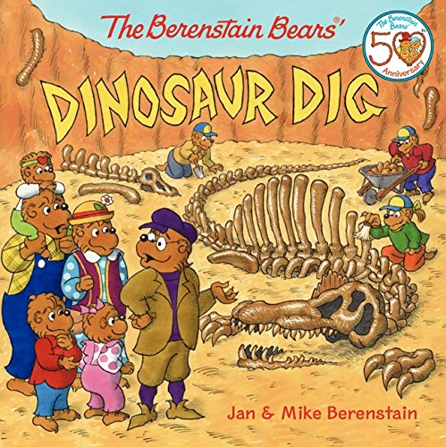 The Berenstain Bears' Dinosaur Dig (Dinosaur Fossil Making Kit)