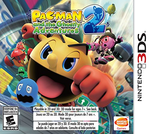 Nintendo Adventure Games (PAC-MAN and the Ghostly Adventures 2 - Nintendo 3DS)