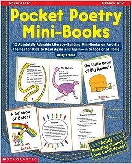 Amazon com: Pocket Poetry Mini-Books: 12 Absolutely Adorable