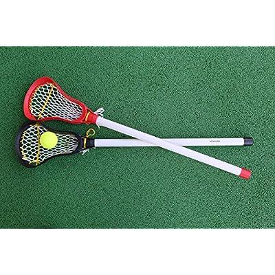 Kid's Lacrosse Balls (2 Pack) - 2 X 2.5 Inch Diameter Rubber Lacrosse Balls