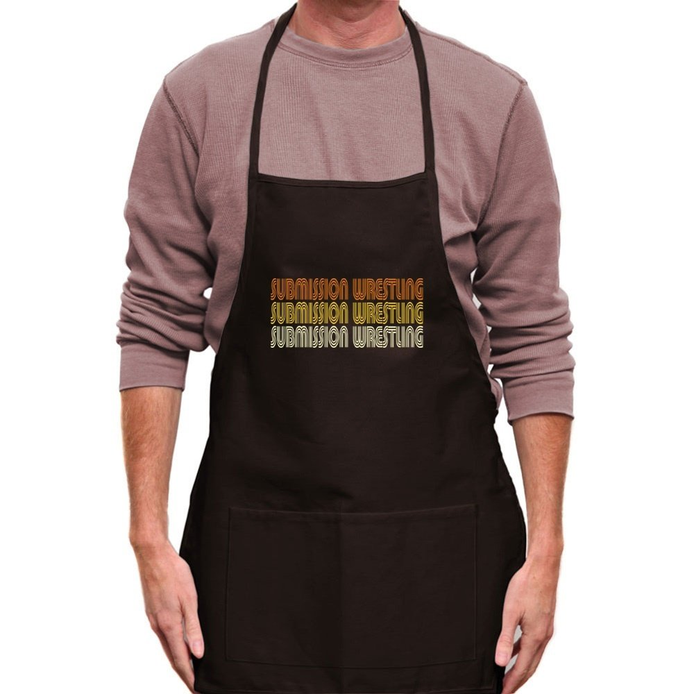 Teeburon Submission Wrestling RETRO COLOR Apron by Teeburon