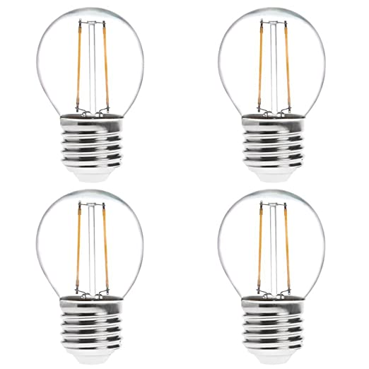 hero-led G16 E26/E27 LED (estilo Edison Vintage Bombilla de ...