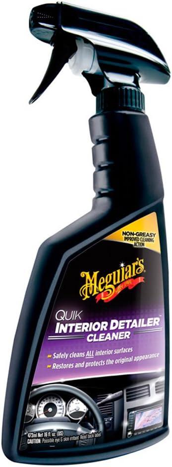 Meguiar's Quik Interior Detailer Cleaner 473 ml for a Matt Finish