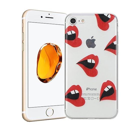 51 opinioni per Cover iPhone 7 Silingsan Cover in Silicone TPU per iPhone 7 Custodia Trasparente
