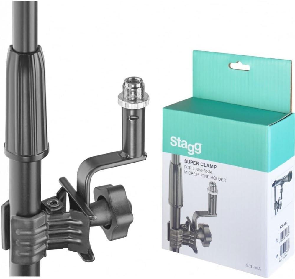 Stagg Scl-mia support universel pour micro avec pince de serrage