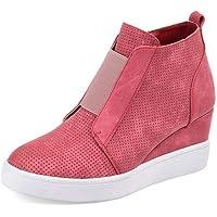 Zapatillas de Cuñas para Mujer Plataformas Botines Tacon
