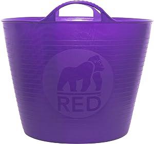 TubTrug SP26P Medium Purple Flex Tub, 26 Liter
