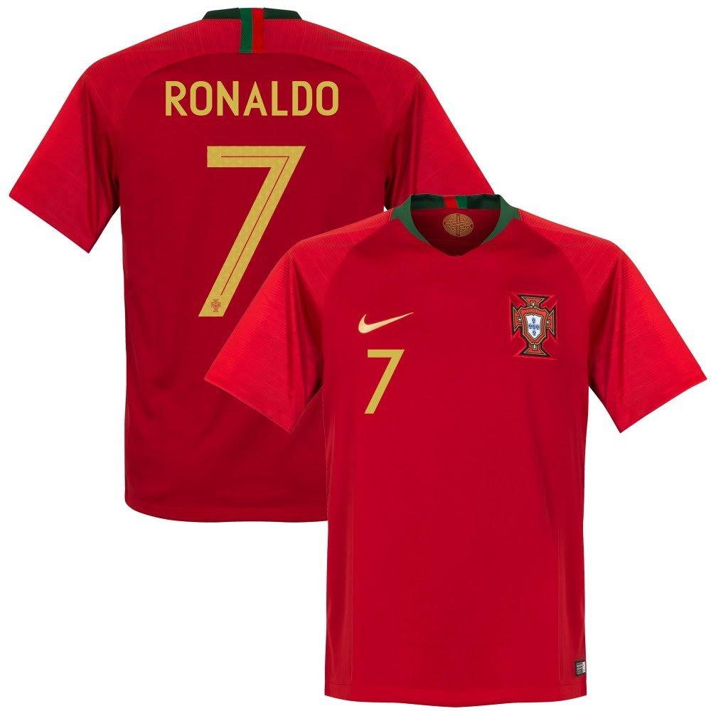 2e891cbe9e Amazon.com   NIKE Portugal Home Ronaldo Jersey 2018 2019 Size Adult Medium    Sports   Outdoors