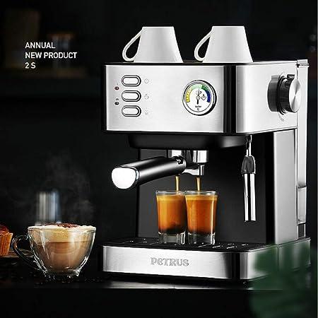 KOUDAG Cafetera 20Bar Coffee Machine Espresso Steamed Coffee Hogar ...