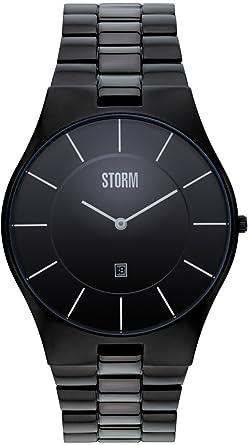 Montre MmMontres Storm Homme Acier Noir 48 En m80wOyvnN