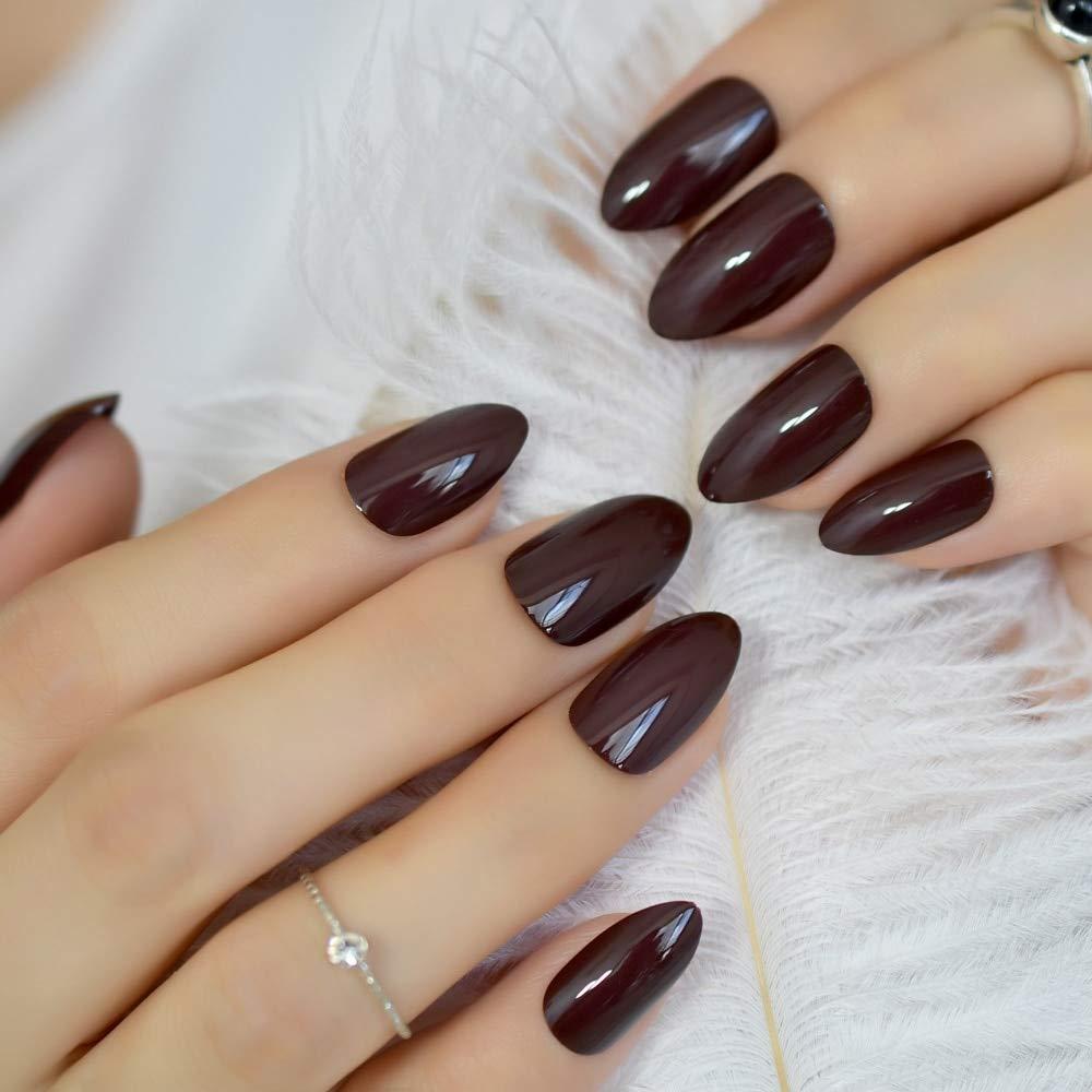 Chocolate Nail Art Design