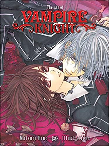 the art of vampire knight matsuri hino illustrations