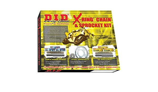 D.I.D X-Ring Chain and Sprocket Kit DKK-011G