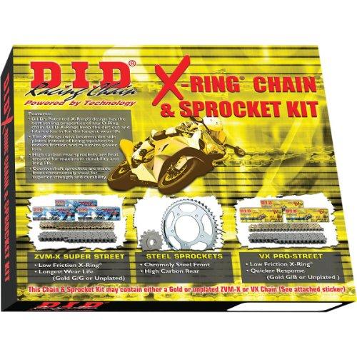 D.I.D. (DKK-005 520VX2 Chain and 15/46T Sprocket Kit