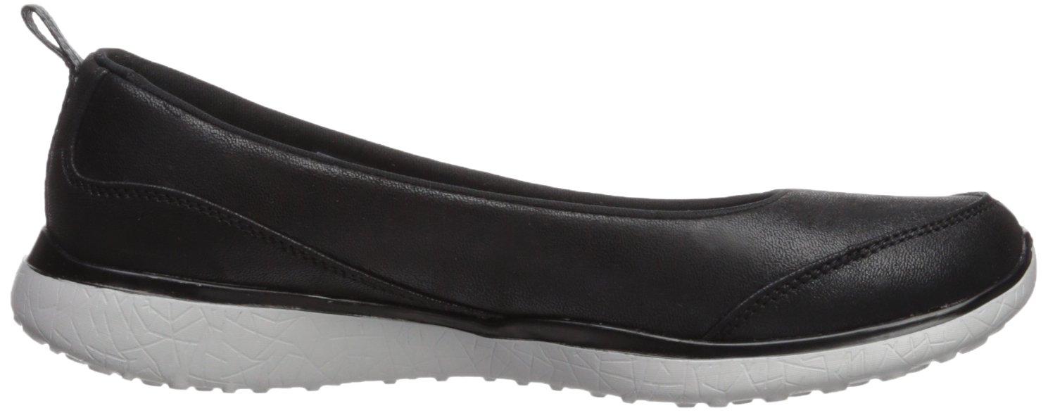Skechers Geschlossene Damen Microburst - Lightness Geschlossene Skechers Ballerinas, Schwarz / Grau dc179b