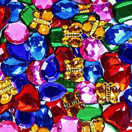Colorations LIBERACE Giant Glittering Rhinestones - 1 lb.