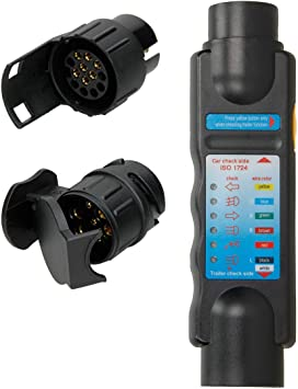 Trailer//Fahrzeug Tester 7-//13-polig