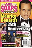 ABC Soaps In Depth Magazine - August 13, 2018 - Maurice Benard's 25th Anniversary as Sonny Corinthos From General Hospital