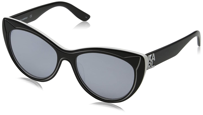 Karl Lagerfeld KL900S 007 55 Gafas de Sol, Black/Snow, Mujer ...
