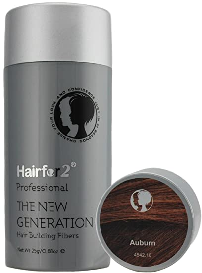 Hairfor2 Hair Fibres Color Auburn - 25 gr