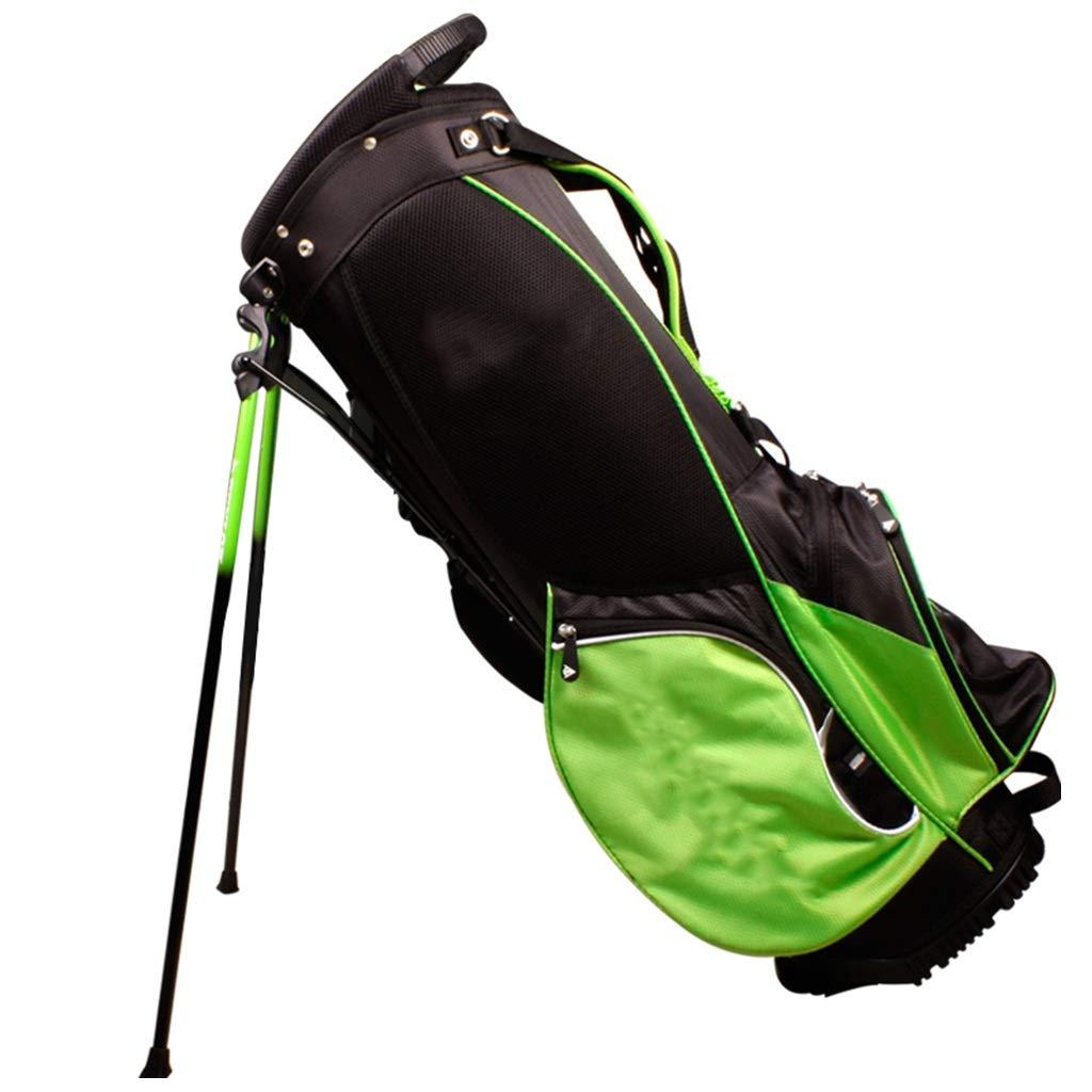 男女兼用の立場のナイロン大容量の軽いポータブルが付いているゴルフバッグキューバッグ   B07PFRHGFD