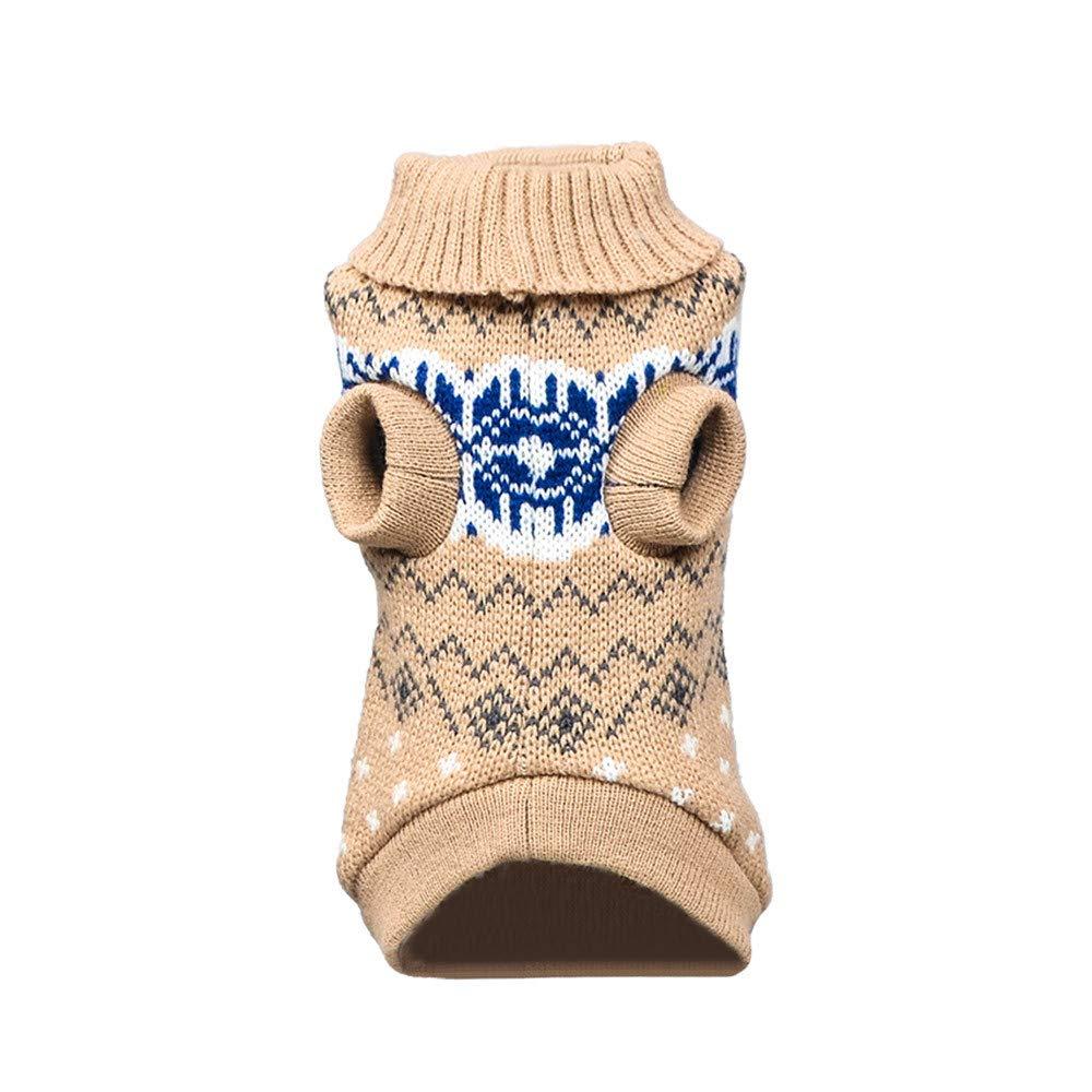 Xmiral Cappotto per Giacca Invernale per Cani di Piccola Taglia L,9- Blu Scuro