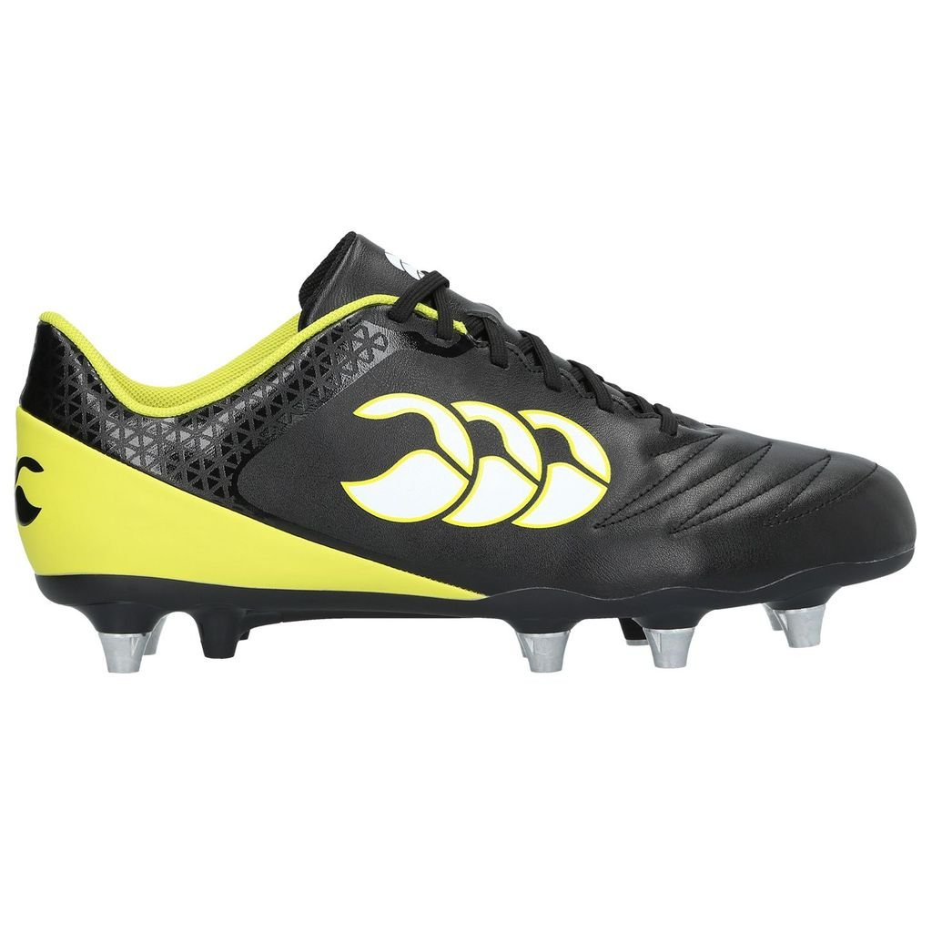 Canterbury Stampede 2.0 SG Rugby Boots - Black/Sulphur Spring