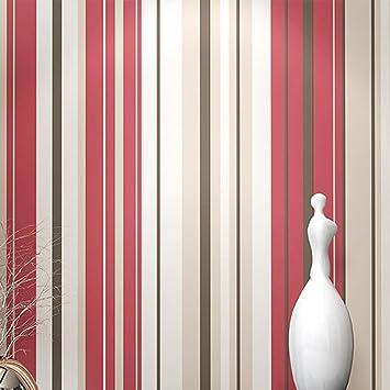 Simple Modern Non-woven Wallpaper Bedroom Living room Wallpaper ...
