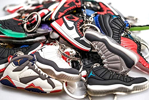 b6fc55a7371ff Rare Sneaker Keychain - Rubber Silicone 2D Retro for Sneaker Collector Gift  Idea (Pick