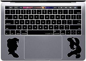MacBook Decal Disney Laptop Sticker Aladdin Laptop Decal Jasmine MacBook Sticker Vinyl Sticker MacBook Pro Decal