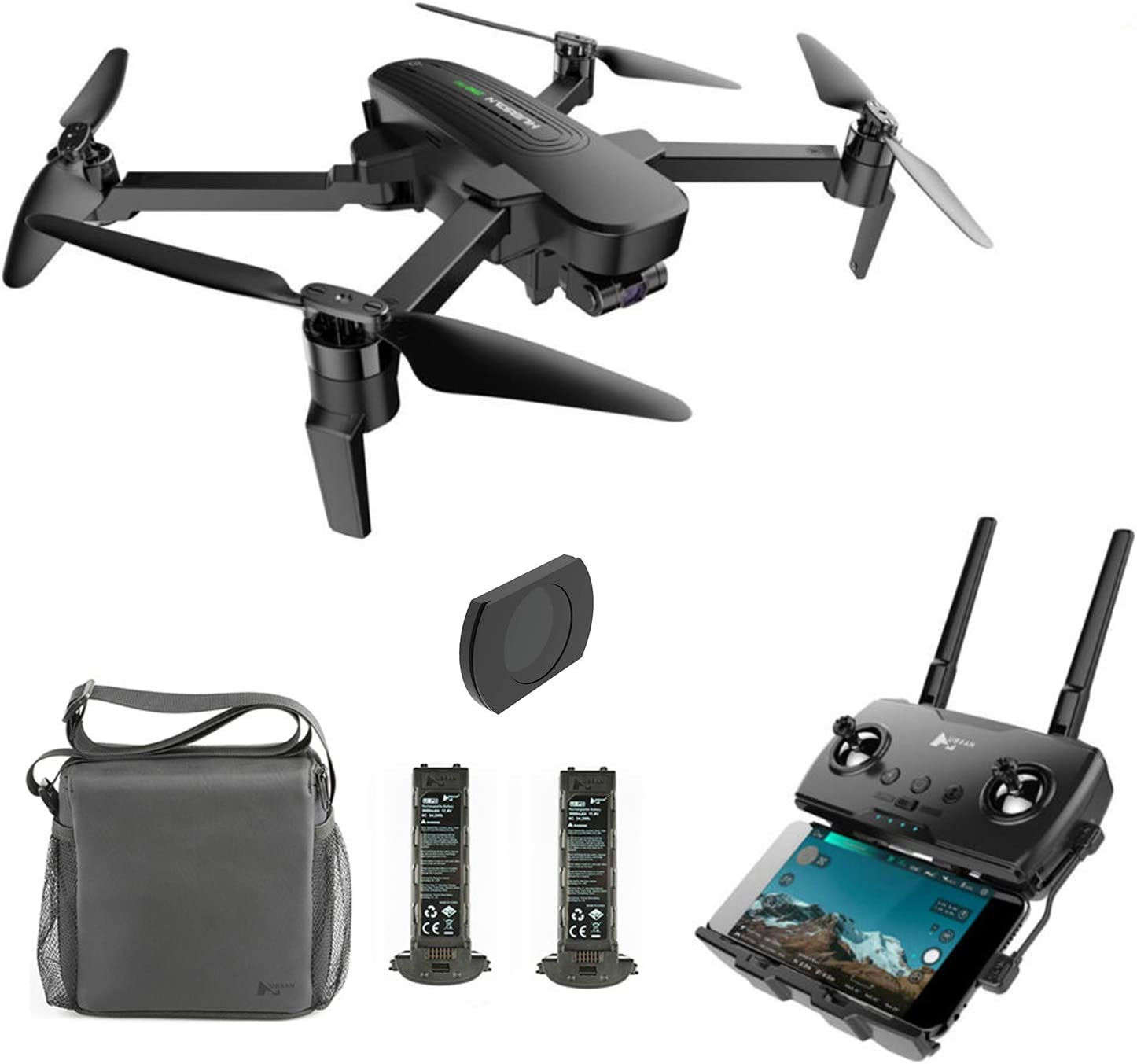 Amazon Com Hubsan Zino Pro 4k Drone With 3 Aix Gimbal Gps Quadcopter Live Video 5g Wifi 4km Fpv Drone Brushless For Beginners Camera Lens Filter And Two Batteries Included Toys Games
