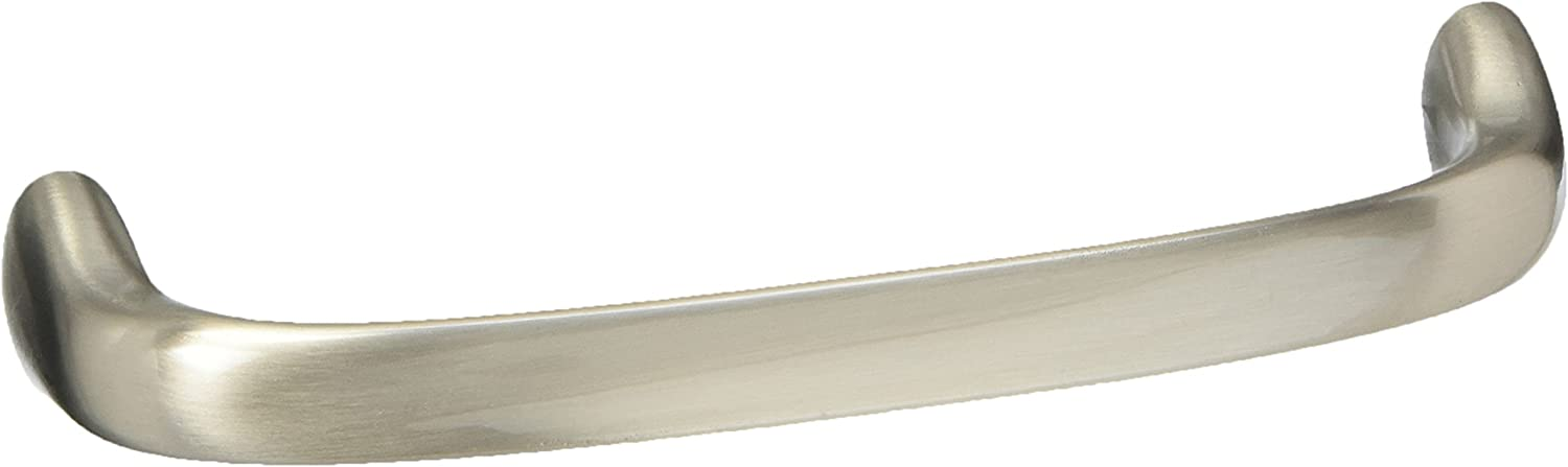 10 Pack BP27021-G10 Amerock BP27021G10 Dulcet Satin Nickel Cabinet Hardware Handle Pull Hole Centers 128mm 5