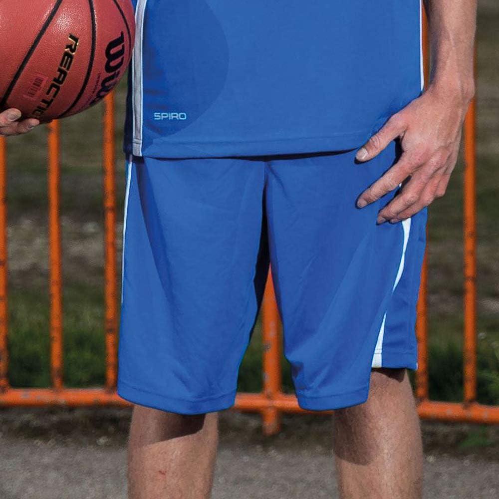 Short de basketball pour hommes /à s/échage rapide/ Spiro