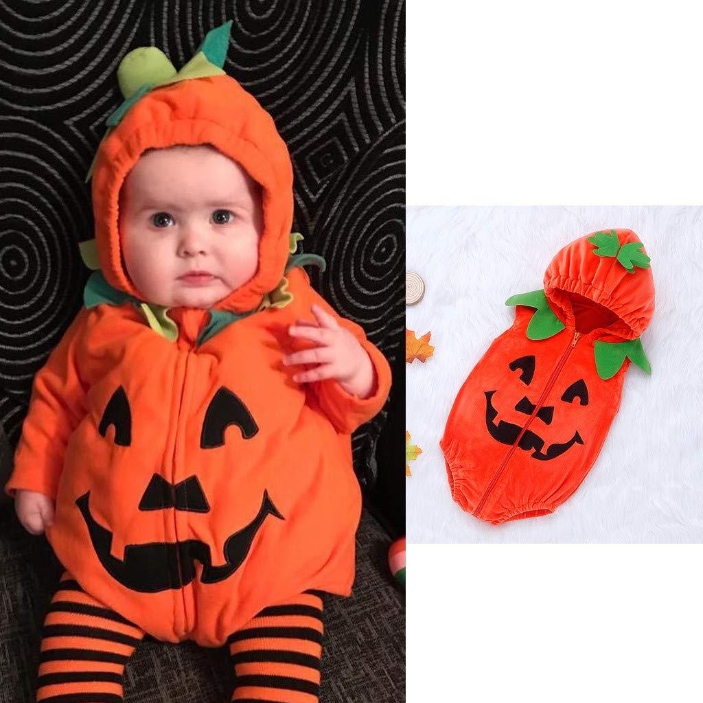 Bambina Strega Costume Carnevale Halloween Bambini Vestito Bambina Ragazza Vestiti di Halloween Outfit Abbigliamento Pagliaccetto con Stampa per Neonato A Maniche Lunghe per Neonato