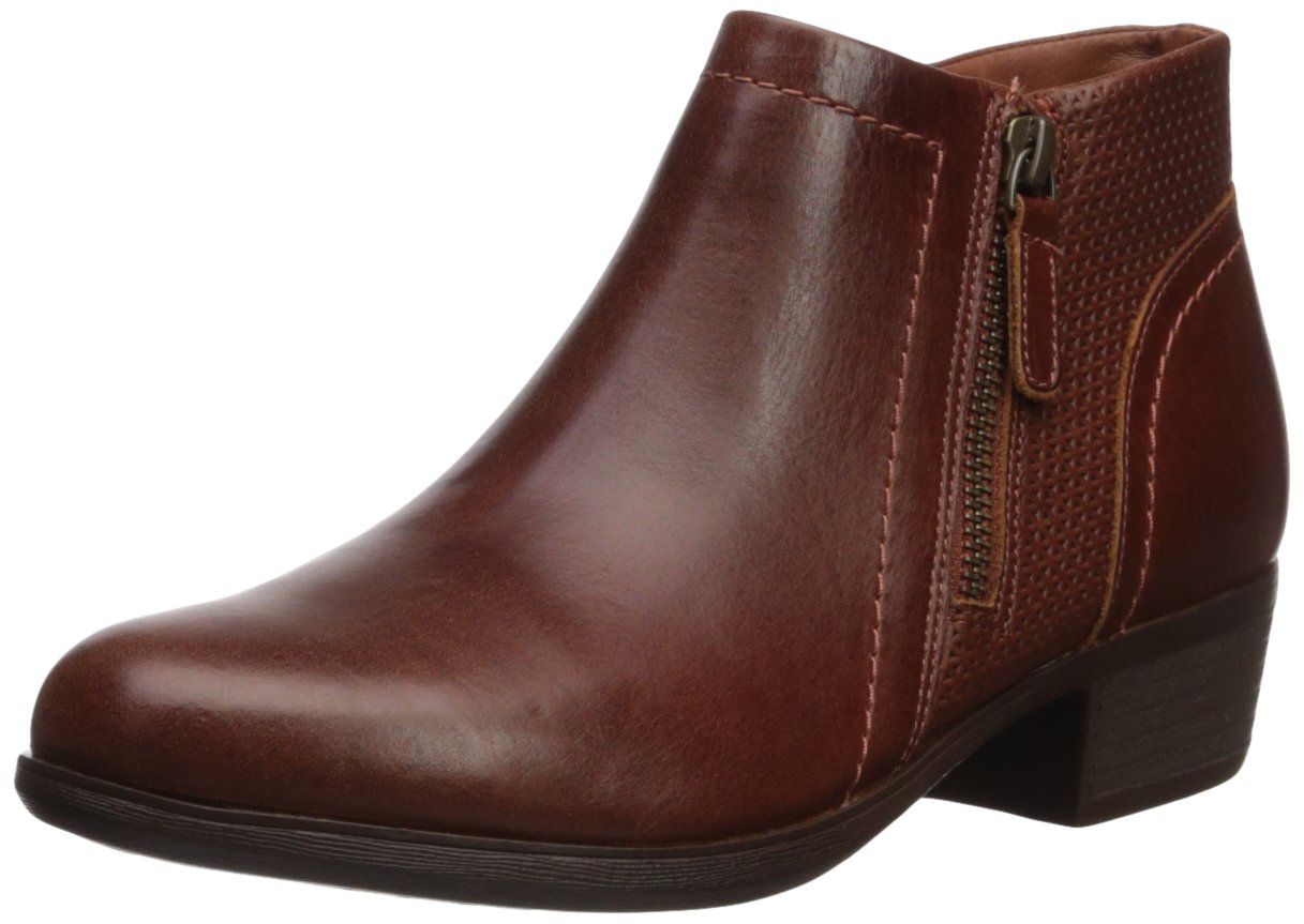 Cobb Hill Women's Oliana Panel Ankle Boot B06X3QRL39 7 W US|Saddle Pull Up Lthr