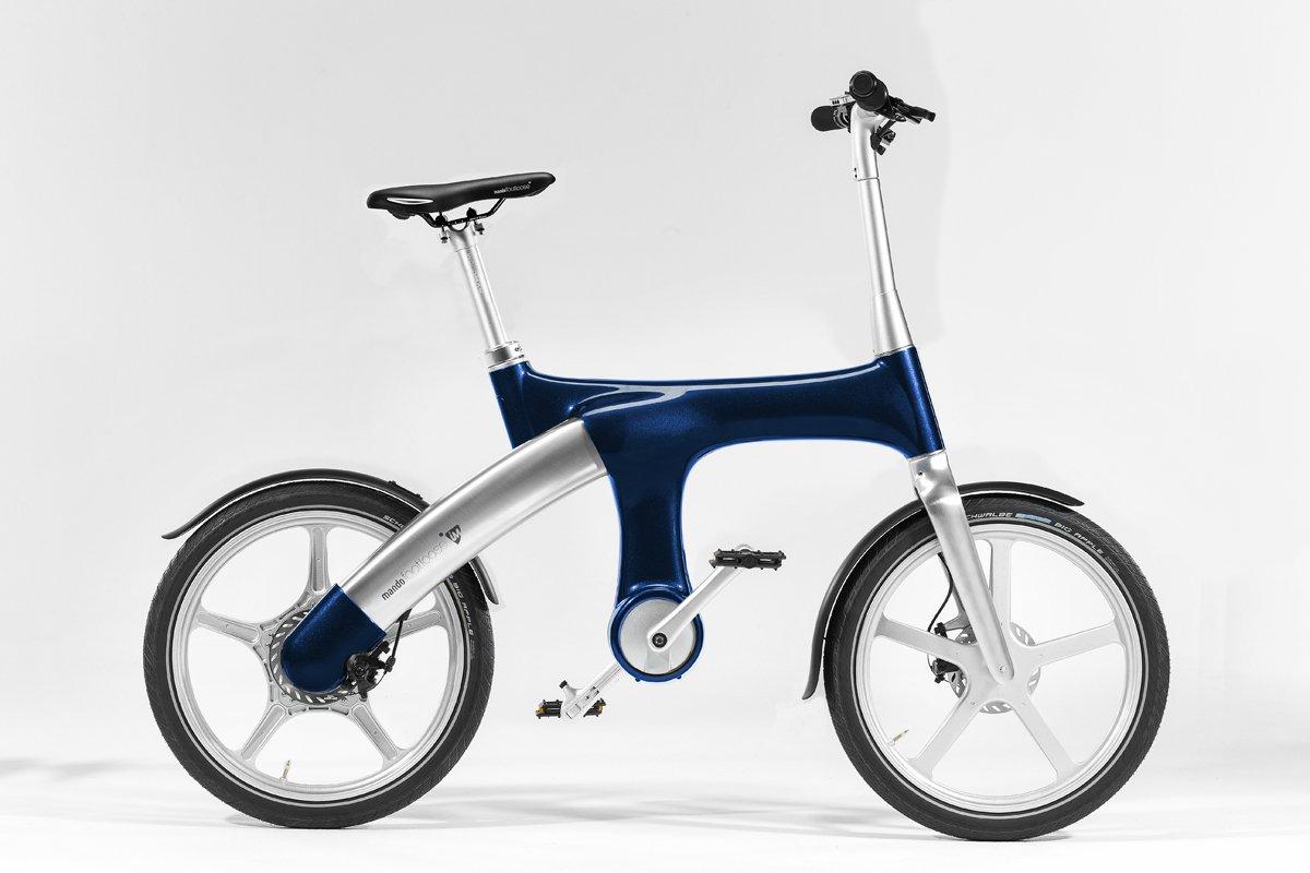 Mando Footloose im Electric Bicycle, Mando Footloose IM electric bicycle, Red: Amazon.es: Deportes y aire libre