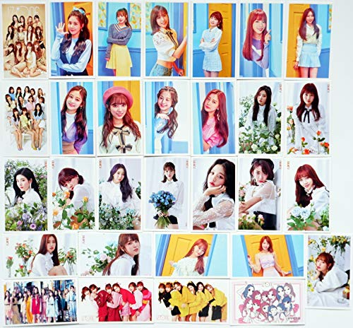 Girl Photo Postcard - SV Best IZONE Girl group Kpop Lomo Cards Photo Postcard Collection 30 pcs/Set Gift (#1)