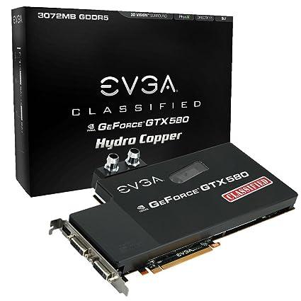 EVGA NVIDIA GTX 580 NVIDIA GeForce GTX 580 3GB - Tarjeta ...