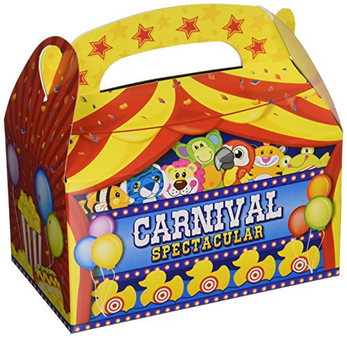 Carnival Adventure Set (Adventure Planet Carnival Treat Boxes (Bulk Pack of 12 Boxes))