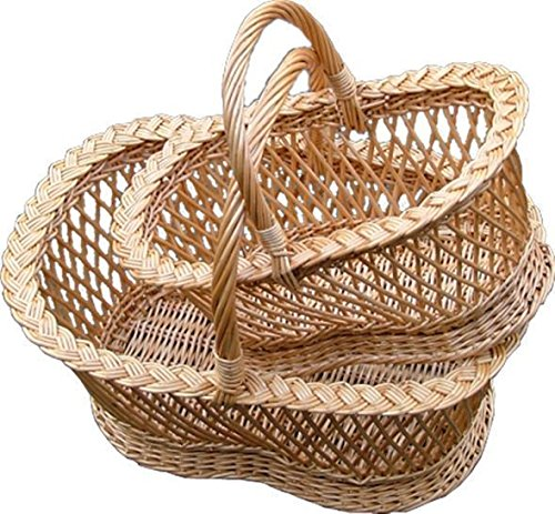 Set of 2 Shrewsbury Shopping Baskets