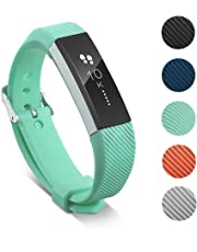 for Fitbit Alta Band, Classic Soft TPU Silicone Adjustable Replacement Bands Fitness Sport Strap for Fitbit Alta