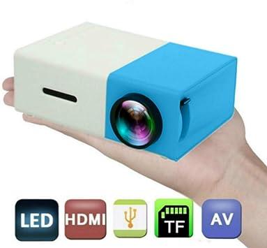 Hot YG300 Home Mini Pico Proyector LED Entretenimiento Portátil ...