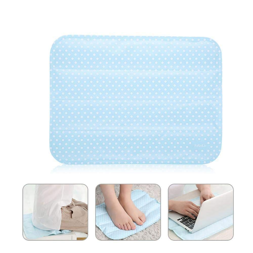 Semoic Cooling Seat Cushion, Self Cooling Car Seat Cushion, Non-Toxic Cooling Gel Mat Pad for Foot, Office Chair, Laptop, Pillow