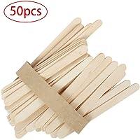 Sunnyflowk 50PCS / Set Depresores de Lengua Desechables