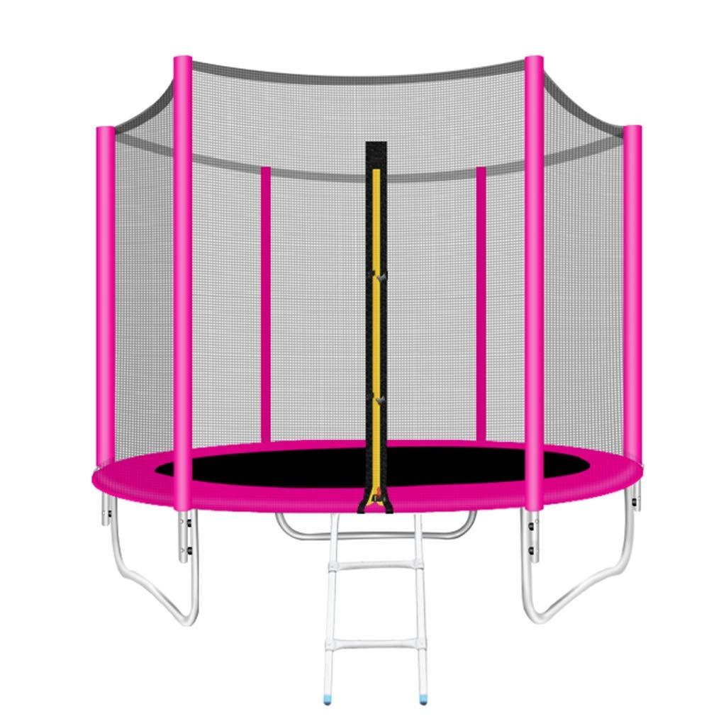 Gartentrampoline Trampolin Sprungbett Fitness Gymnastik Für Erwachsene Heimkinder Indoor-und Outdoor-Sprungtrampolin Mit Schutznetzen Bungee-Bett Quadratisches Außen-Sprungbett Gewicht