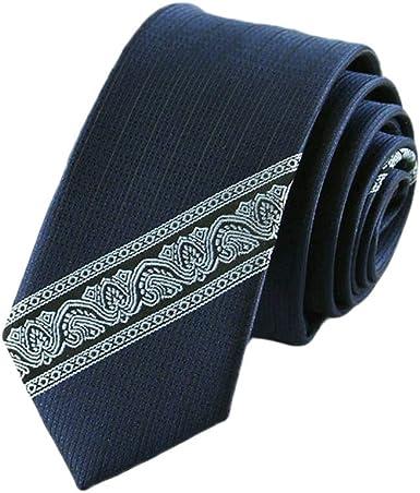 Westeng 1PCS Cravate costume homme en polyester Cravate
