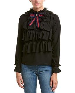 b17038b9225 Romeo   Juliet Couture Women s Swiss Dot Woven Dress Black Medium at ...
