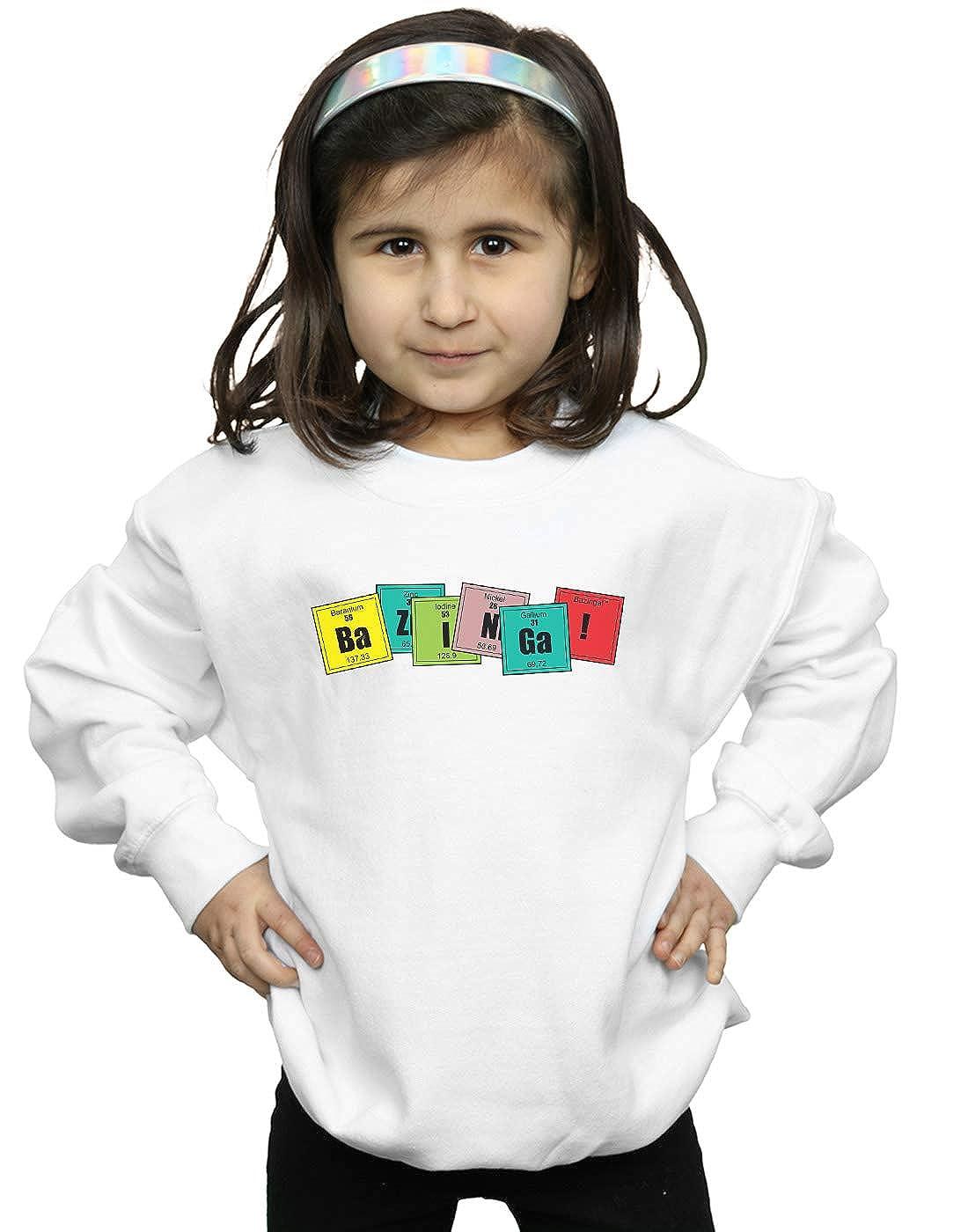 The Big Bang Theory Girls Bazinga Elements Sweatshirt