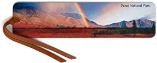 product image for Denali National Park, Alaska, Wooden Bookmark with Suede Tassel