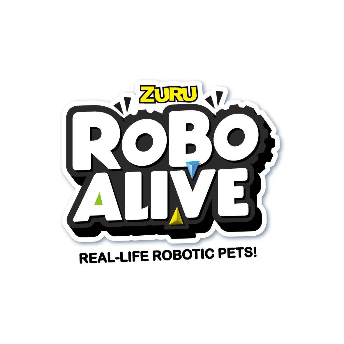 Robo Alive Zuru Robotic Lizard Toy Pet (Blue)